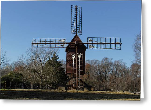 Robertsons Windmill Greeting Card