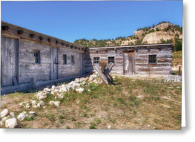 Greeting Card featuring the photograph Robidoux Trading Post by Susan Rissi Tregoning
