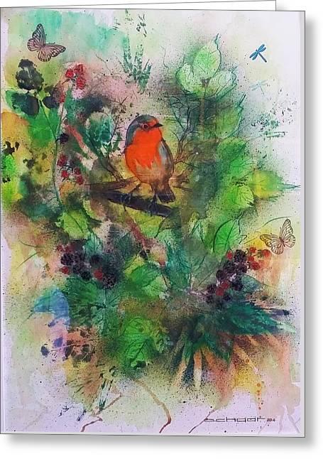 Robin Des Bois Greeting Card