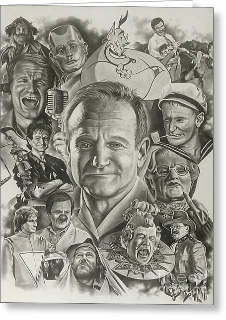 Robin Williams Greeting Card