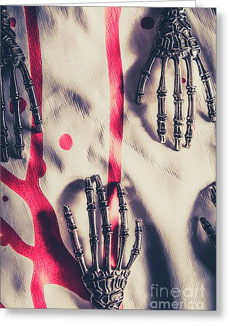 Robot Killing Machines Greeting Card by Jorgo Photography - Wall Art Gallery