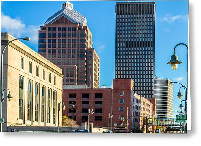 Rochester Ny Greeting Card by William Norton