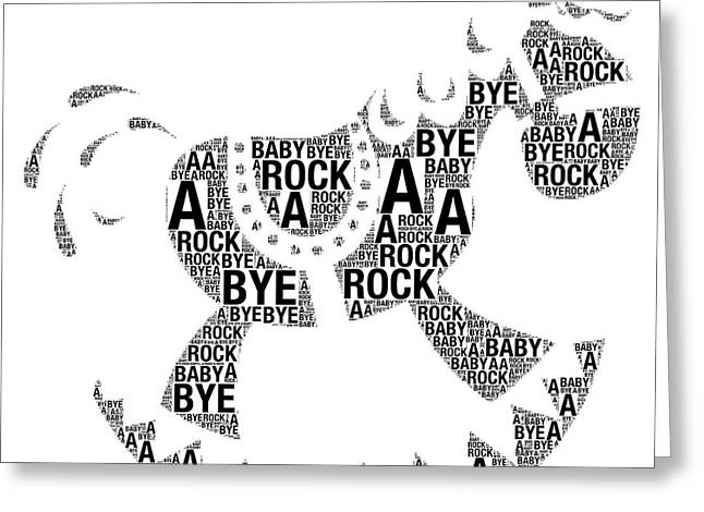 Rock A Bye Baby Greeting Card by Alice Gipson
