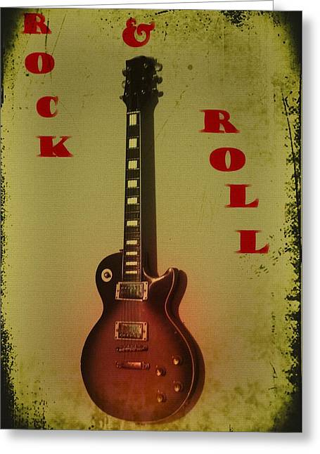 Rock And Roll Greeting Card by Bill Cannon