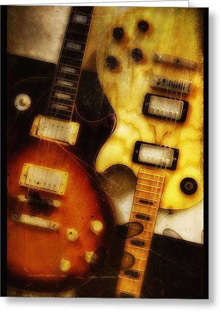 Rock And Roll Never Forgets Greeting Card by Bill Cannon