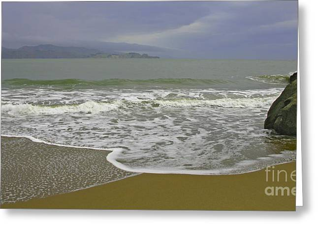 Rock And Sand Greeting Card