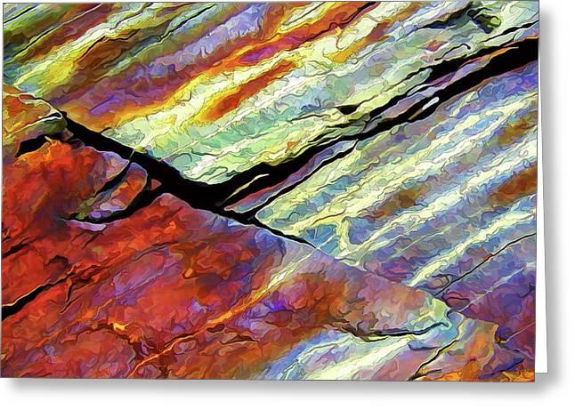 Rock Art 16 Greeting Card