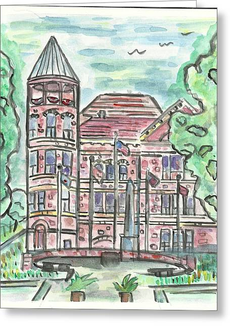 Rock County Courthouse Square Greeting Card
