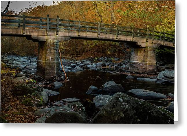 Rock Creek Park Bridge Greeting Card