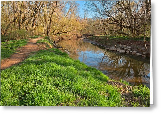 Rock Creek Spring Greeting Card