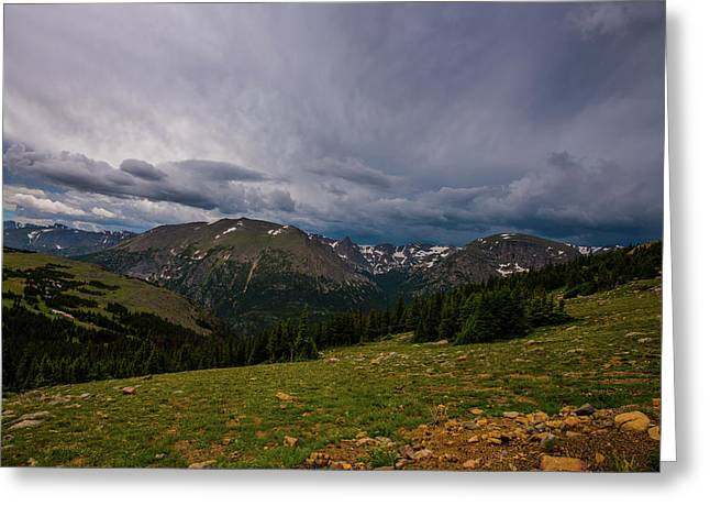 Rock Cut 3 - Trail Ridge Road Greeting Card