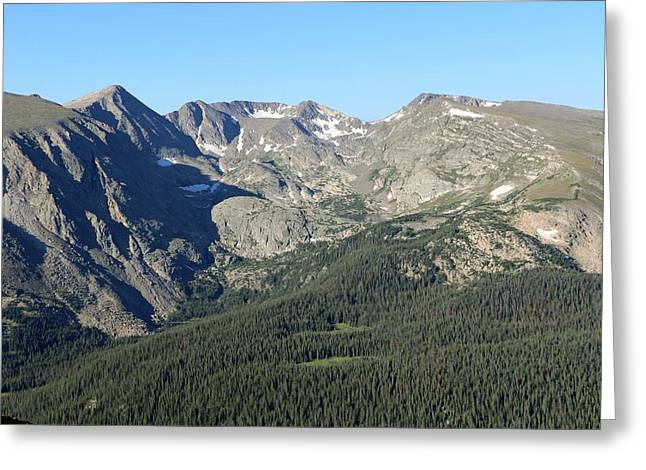 Rock Cut - Rocky Mountain National Park Greeting Card