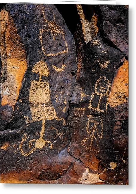 Rock Drawings Greeting Card