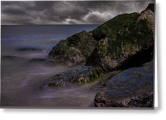 Rock Faces Greeting Card by Martin Newman