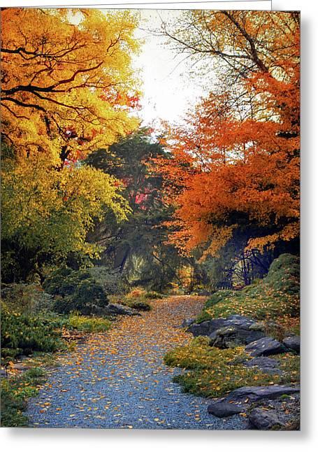 Rock Garden Path Greeting Card
