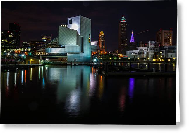 Rock Hall Reflections Greeting Card