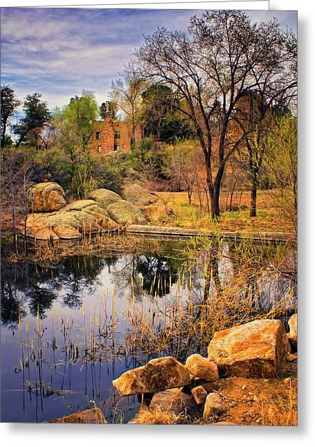 Rock House At Granite Dells Greeting Card by Priscilla Burgers
