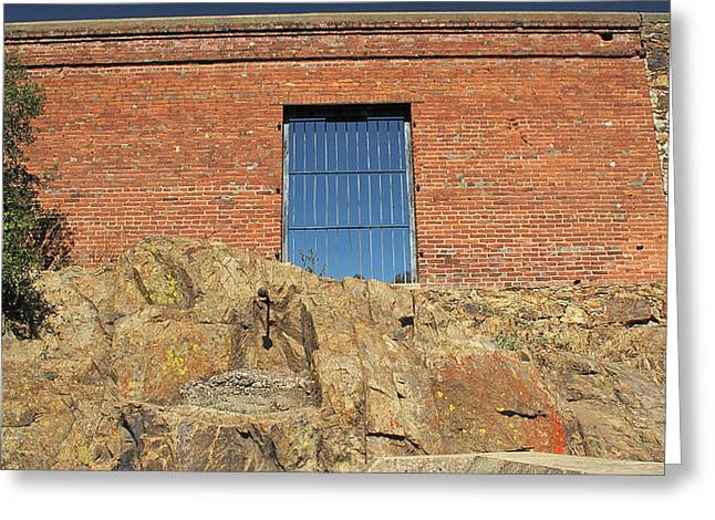 Greeting Card featuring the photograph Rock by Larry Darnell
