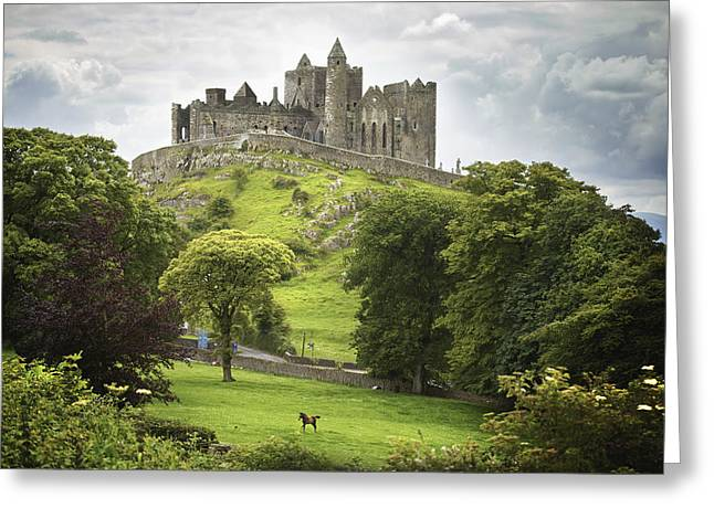 Rock Of Cashel Cashel County Tipperary Greeting Card
