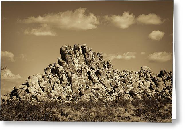 Rock Pile #3 Greeting Card
