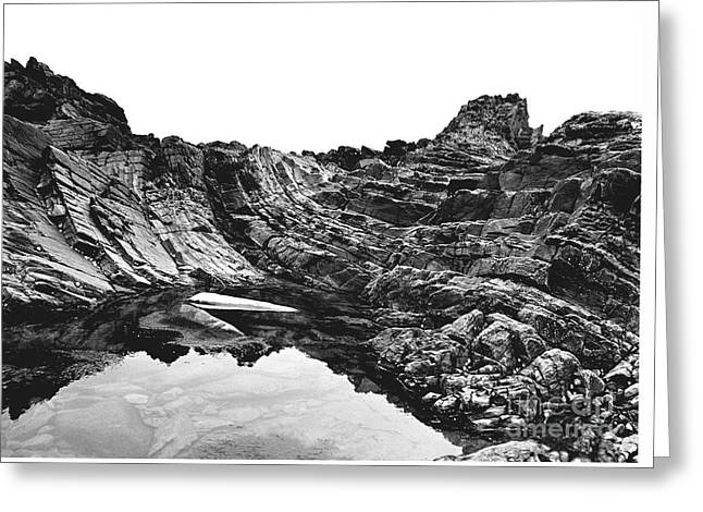 Greeting Card featuring the photograph Rock by Rebecca Harman