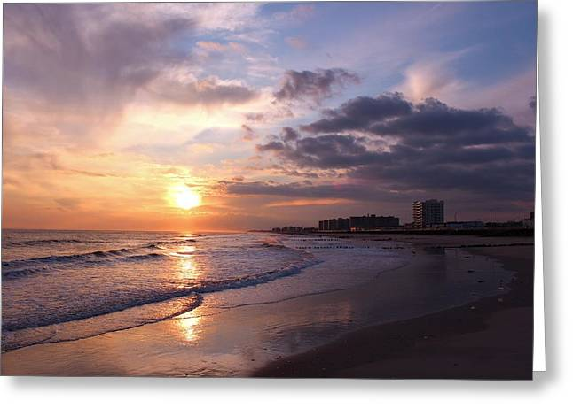 Rock Rock Rockaway Beach Greeting Card