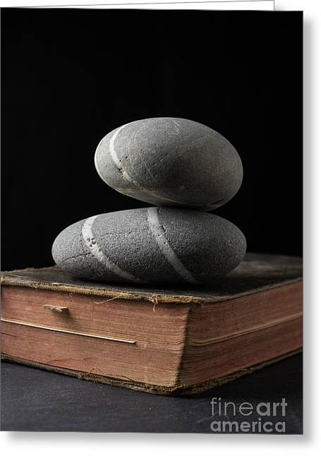 Rock Solid Faith Greeting Card by Edward Fielding