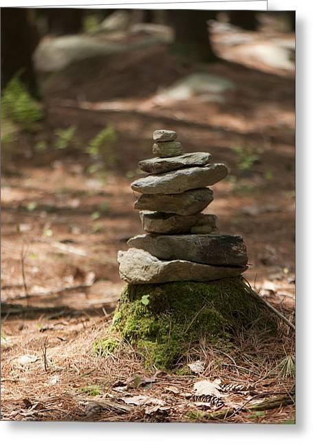 Rock Yoga Greeting Card