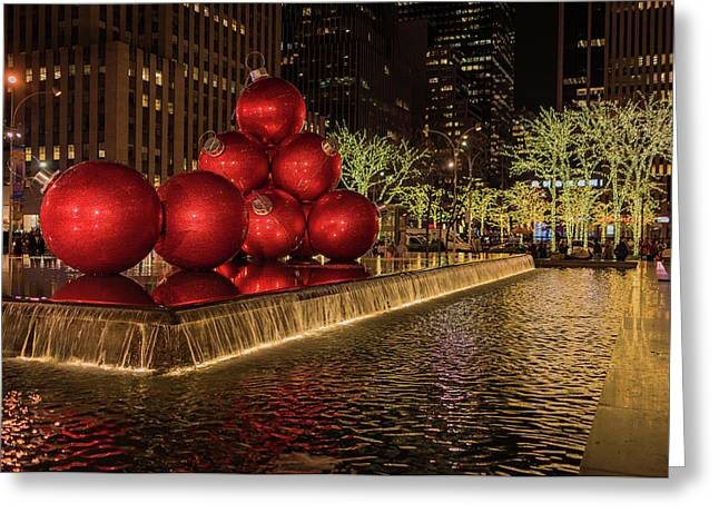 Rockefeller Center  Greeting Card