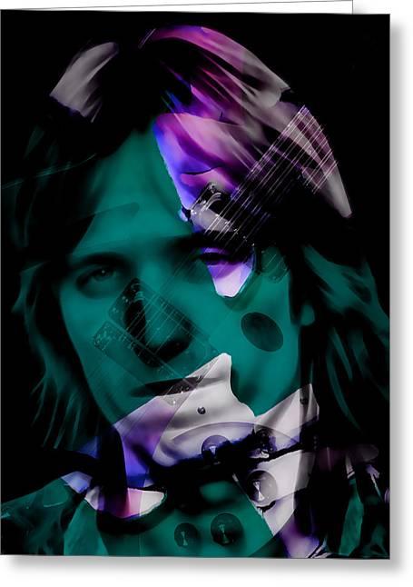 Rocker Tom Petty Greeting Card