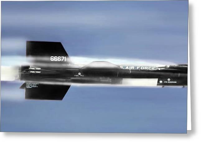 Rocket Ride Greeting Card