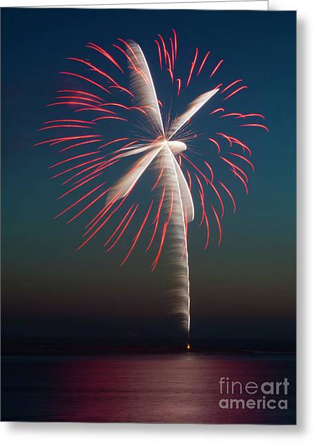 Rocket's Red Glare Greeting Card