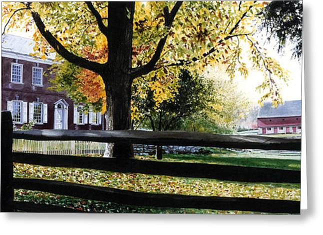 Rockford In Autumn Greeting Card by Denny Bond