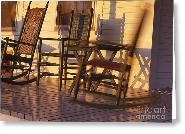 Rocking Chair Greeting Card