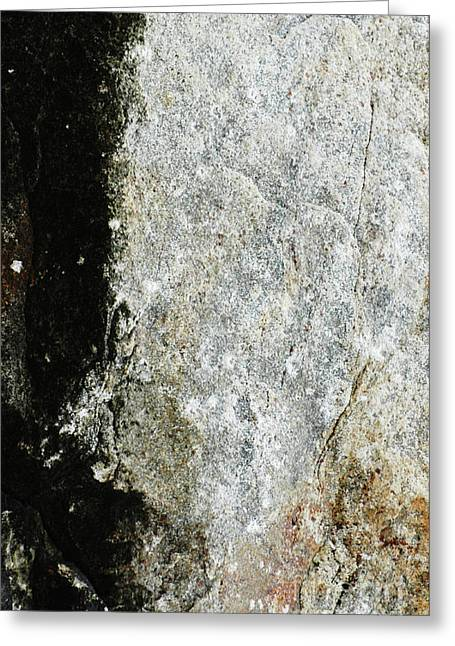 Abstracto Greeting Cards - Rocking Rocks Series - Rock Abstract 1 Greeting Card by Anahi DeCanio Photography