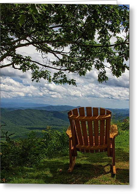 Rocking The Smokies Greeting Card