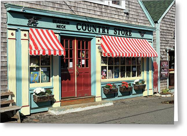 Rockport Country Store Greeting Card