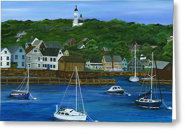 Rockport Dawning Greeting Card