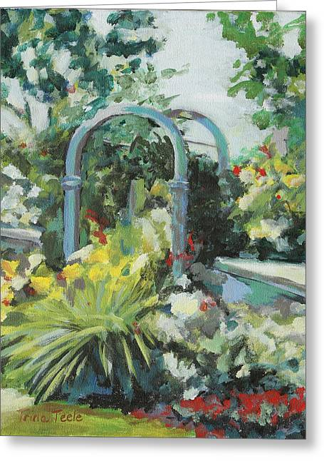 Rockport Garden Gate Greeting Card