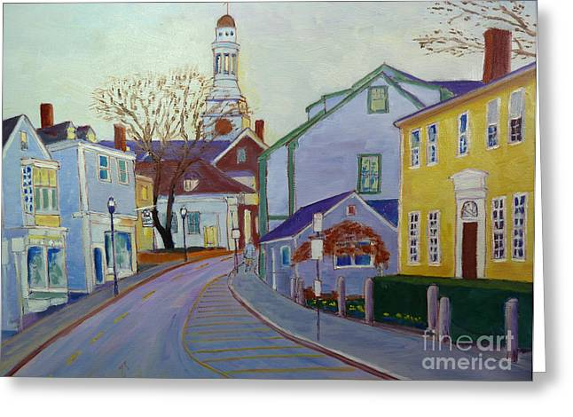 Rockport  Mass Greeting Card