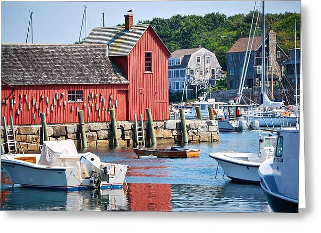 Rockport Motif 1 Greeting Card