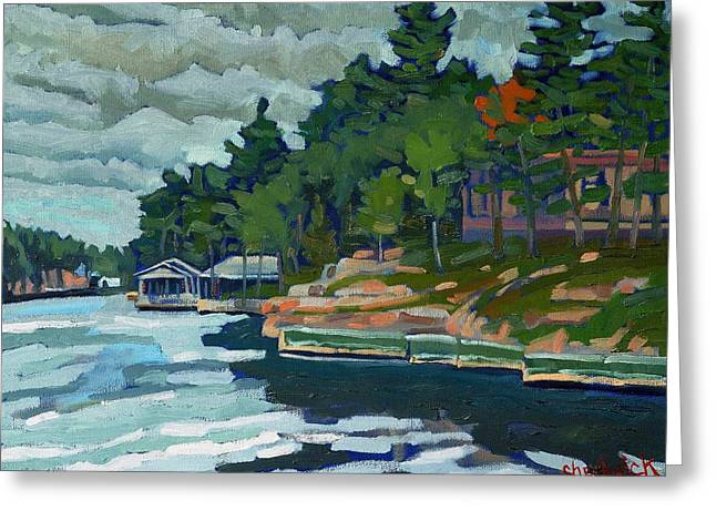 Rockport Shore Greeting Card by Phil Chadwick