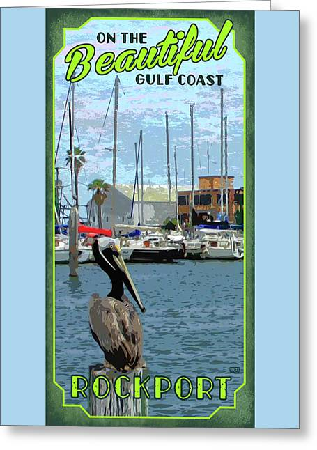 Rockport, Texs Greeting Card