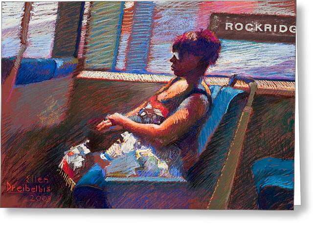 Rockridge Greeting Card by Ellen Dreibelbis