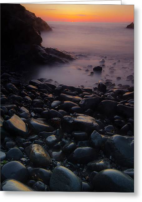 Rocks 2 Greeting Card by William Sanger