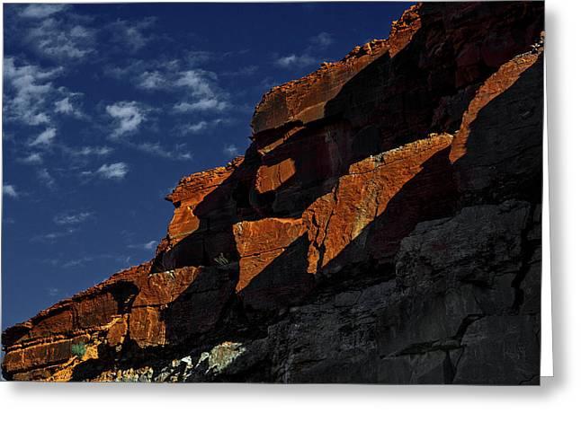 Sky And Rocks Greeting Card