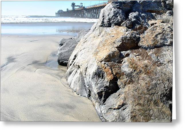 Greeting Card featuring the photograph Rocks Eye View by Amanda Eberly-Kudamik