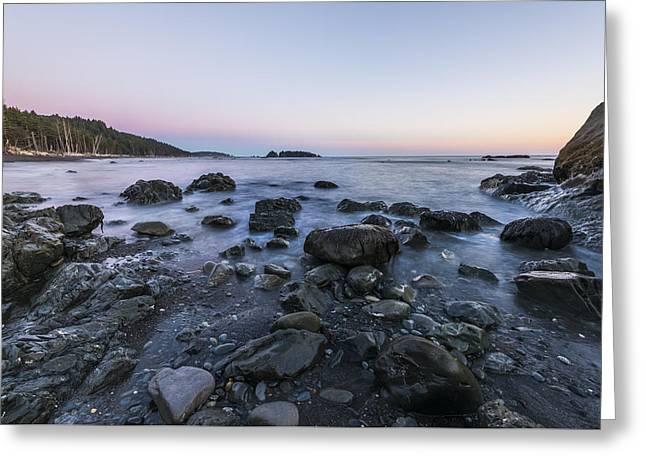 Rocks In Olympic Greeting Card by Jon Glaser