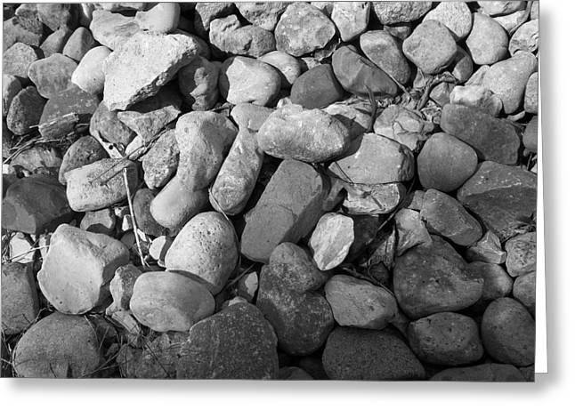 Rocks Greeting Card by Monica Smith