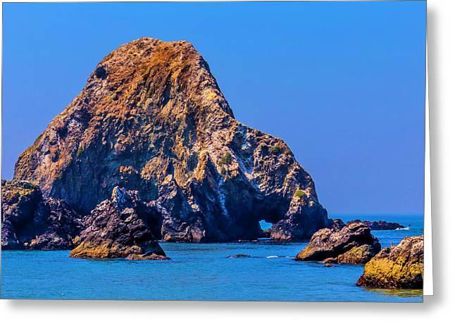 Rocks Off Sonoma Coast Greeting Card